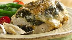 Pechugas Rellenas de Pollo con Queso Gouda y Espinacas