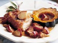 Pork, Squash and Apple Dinner