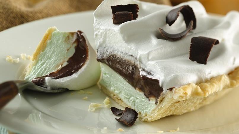 Peppermint-Fudge Pie