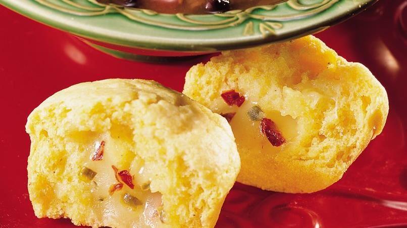 Jalapeño Jack Corn Muffins