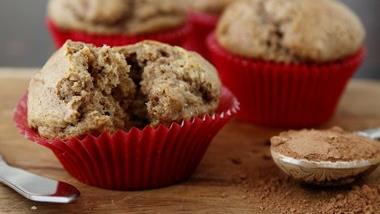 Chocolate Banana Bread Muffins
