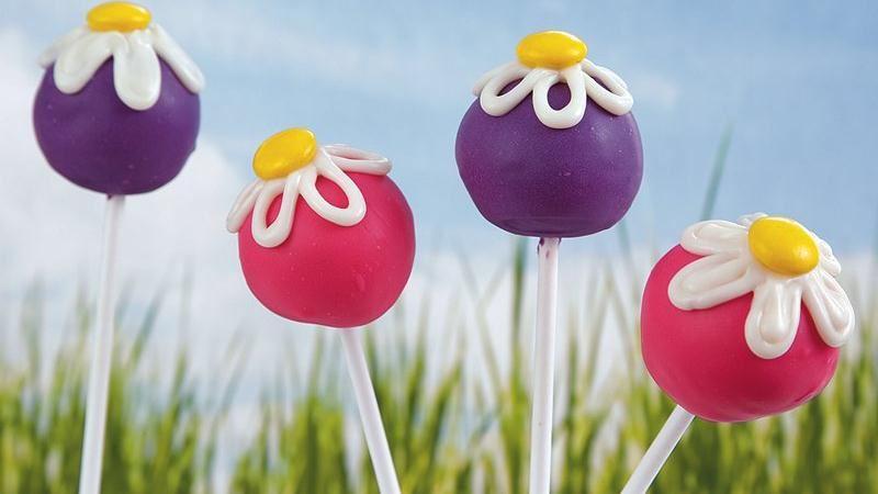 Dainty Daisy Cake Pops