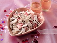 Strawberries and White Chocolate Chex® Mix