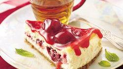Razzle-Dazzle Berry Cheesecake