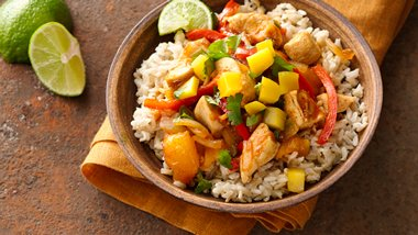 Gluten-Free Mango Chicken Curry