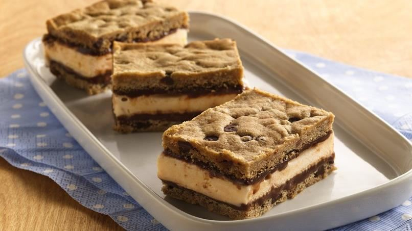 Fudgy Ice Cream Sandwiches
