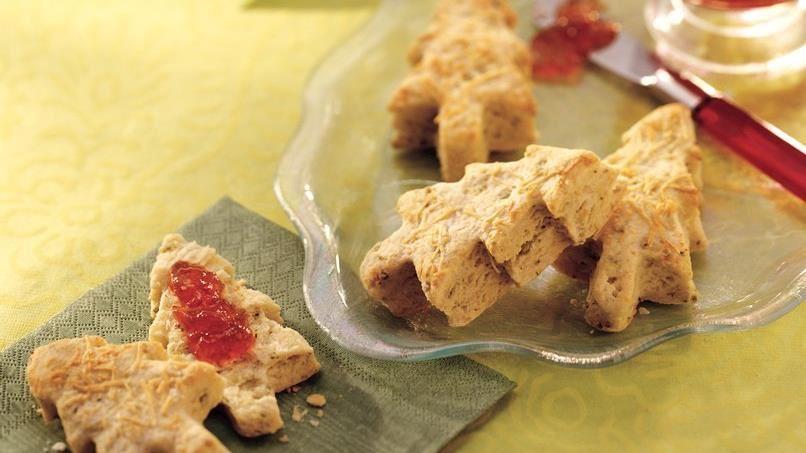 Pesto Biscuits