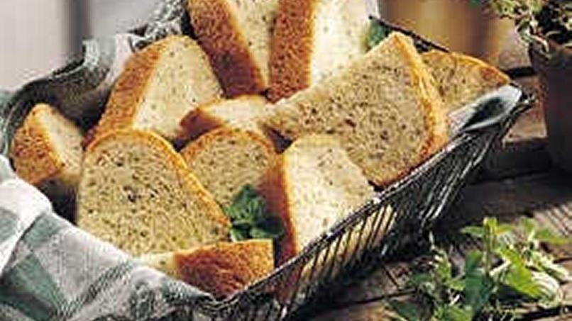 Bread Machine Fresh Herb Bread