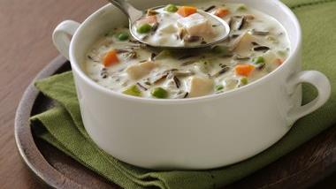 North Woods Wild Rice Soup (Cooking for Two)