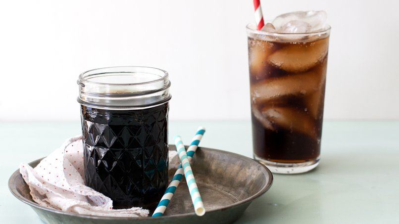Easy Cola Glaze