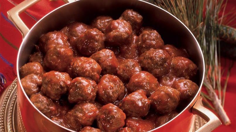 Chutney-Glazed Meatballs