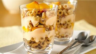 Praline Peach Parfaits