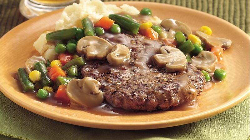 Veggie Salisbury Steak