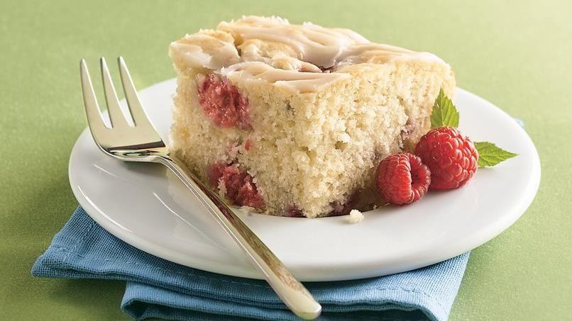 Fresh Raspberry Coffee Cake