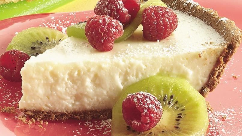 Berry No-Bake Cheesecake Pie