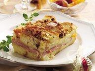 Ham and Swiss Brunch Bake