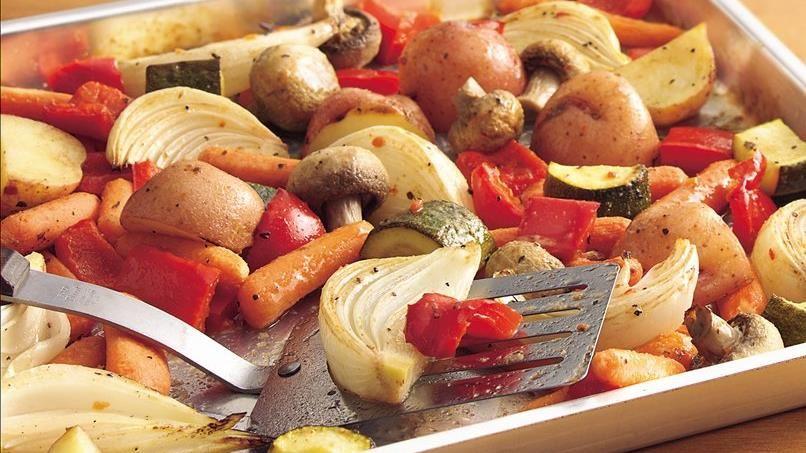 Oven-Roasted Italian Vegetables
