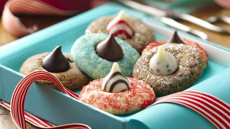 Holiday Blossom Cookies