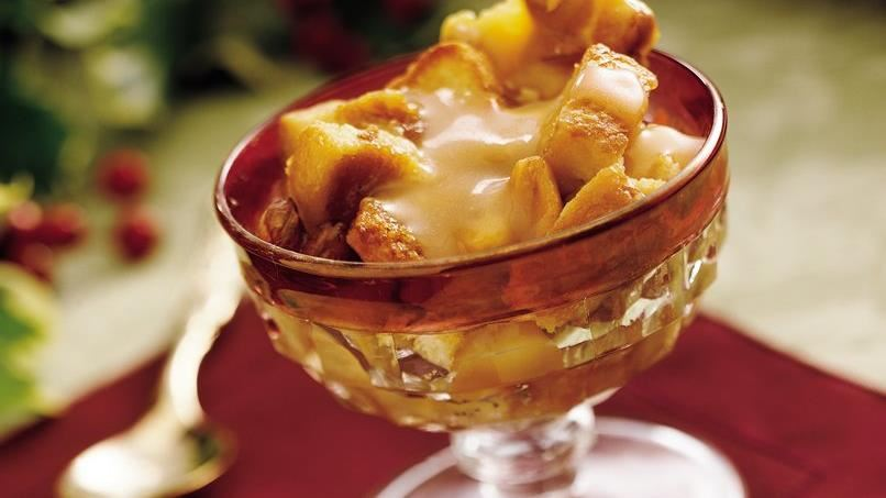 Peanut Brittle Bread Pudding