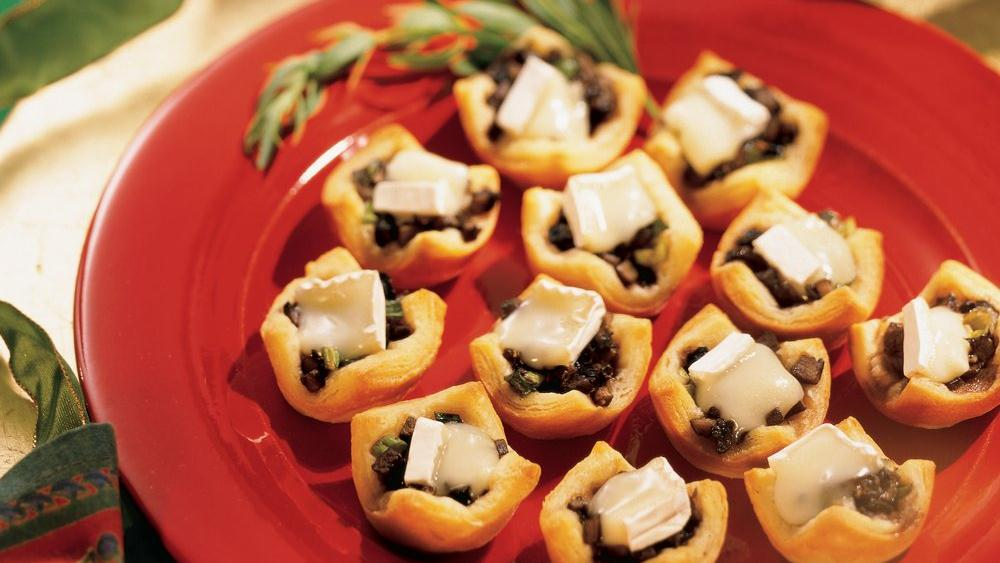 Portabella and Brie Cups
