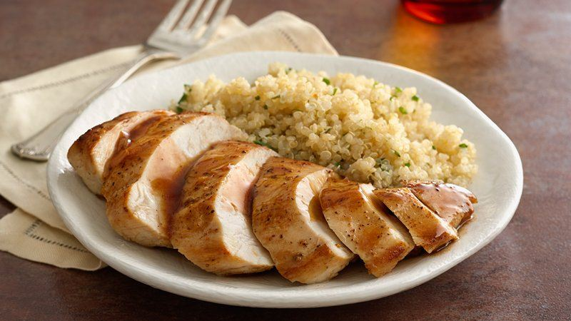 Honey-Garlic-Balsamic Chicken Breasts