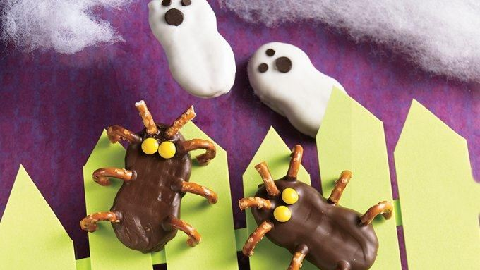 Frightfully Easy Ghosts and Cutie Bugs recipe - from Tablespoon!