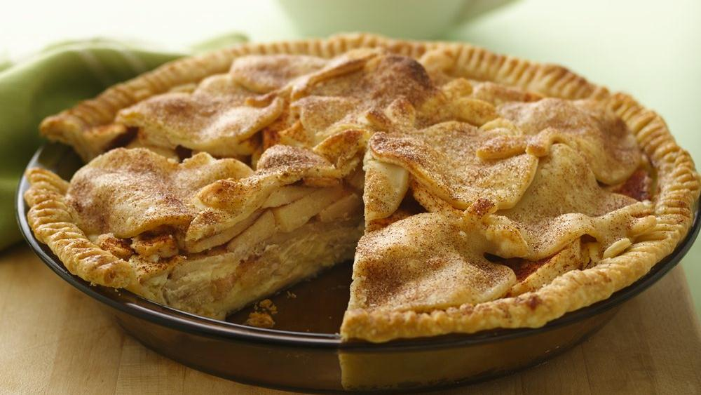 Apple Cheesecake Pie