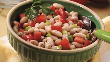 White Bean-Tomato Salad