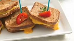 Grilled Cheese Appetizer Sandwiches