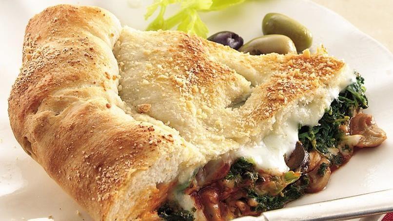 Spinach Pizza Pie