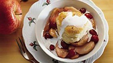 Cranberry Apple Cobbler