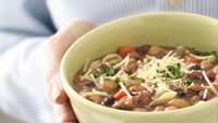 Slow-Cooker Bean and Sausage Minestrone
