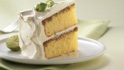 Key Lime Cream Cake