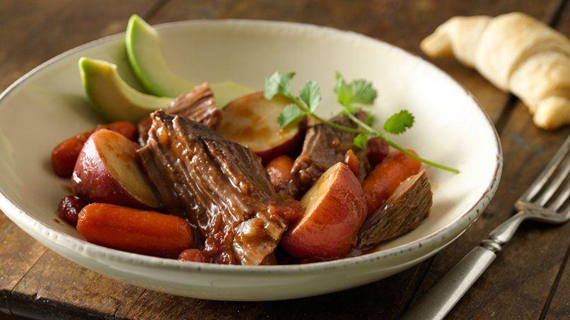 Slow-Cooker Southwestern Pot Roast