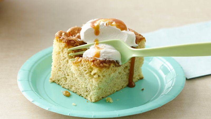 Banana Toffee Picnic Cake