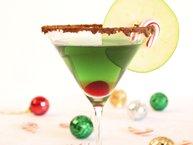 Cinnamon Caramel Apple Martini