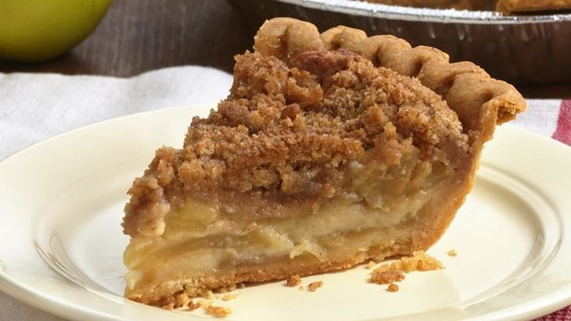 Brown Butter Creamy Apple Pie