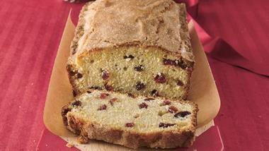 Orange-Cranberry Pound Cake