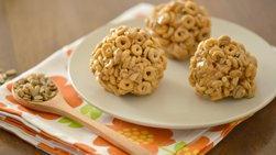 Barras de Cereal con Mantequilla de Maní, Miel y Semillas de Girasol