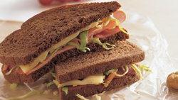 Honey Mustard Ham and Swiss Sandwiches