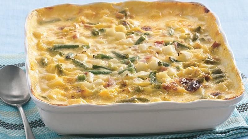 Creamy Ham and Potato Casserole