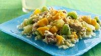 Gluten-Free Tropical Fruit, Rice and Tuna Salad