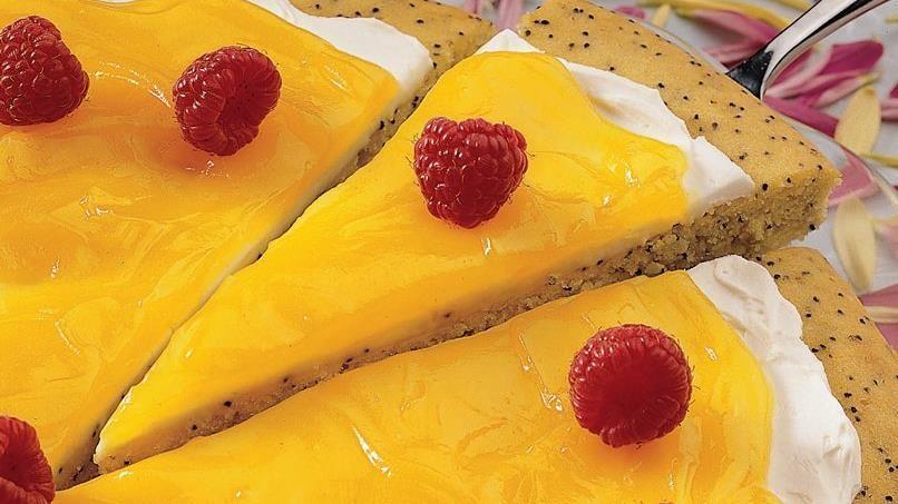 Creamy Lemon-Poppyseed Tart