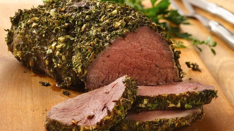 Beef Tenderloin with Herb-Dijon Crust