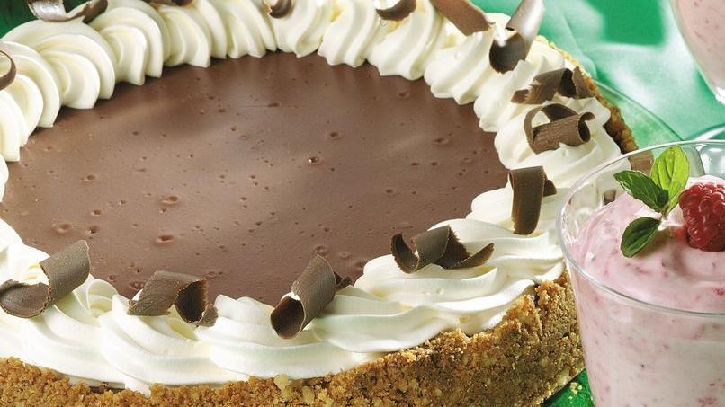 Chocolate-Maple-Walnut Cheesecake