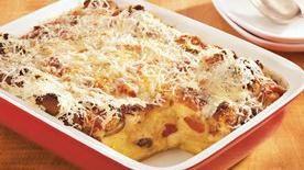 Make-Ahead Italian Biscuit Strata