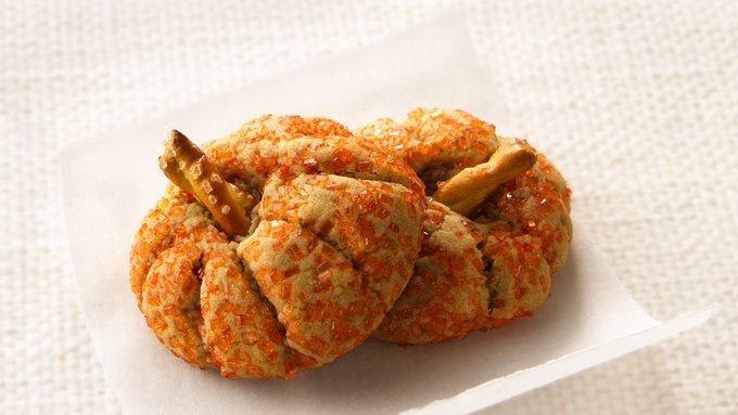 Peanut Butter Pumpkin Cookies