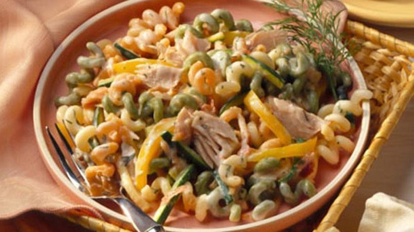 Fusilli with Smoked Salmon