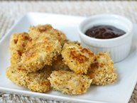 Sweet Potato Chicken Nuggets