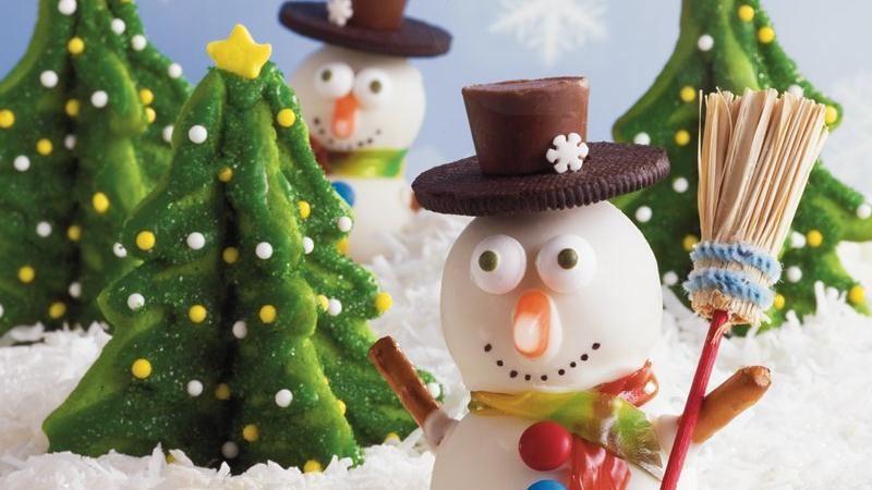 Snowman Cookie Balls